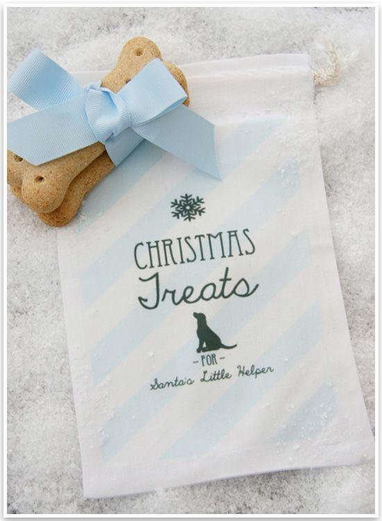 DIY Christmas Treatbags for Pets