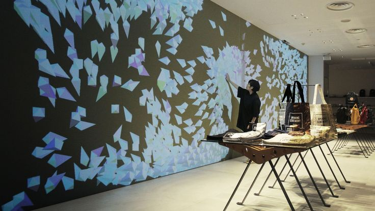 Sketch Wall | teamLab / チームラボ