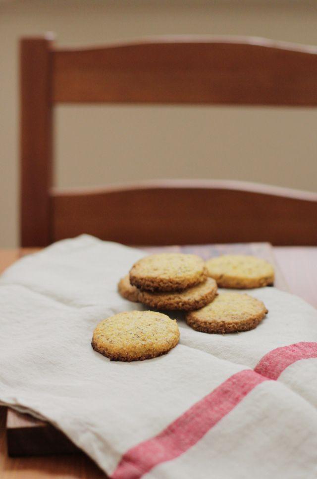 Artusi's Polenta and Elderflower Cookies