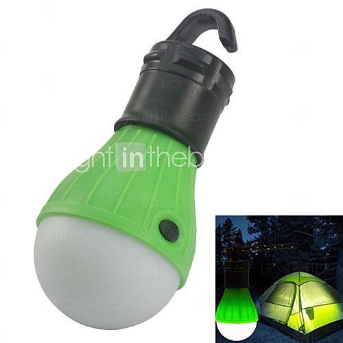 Belysning Lanterner & Telt Lamper LED 10 Lumens 1 Tilstand - AAA Nødsituation Camping/Vandring/Grotte Udforskning / Udendørs Plastik 2016 - kr.28