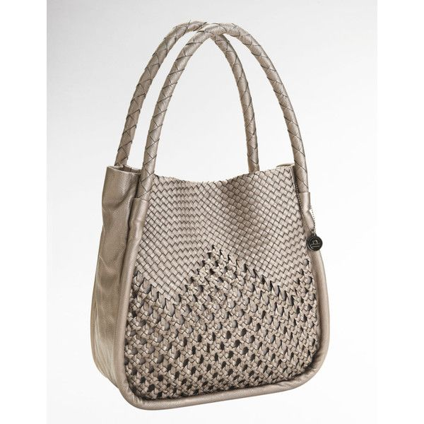 Big Buddha Rihanna Crochet Tote Bag (€57) found on Polyvore
