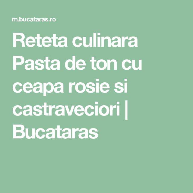 Reteta culinara Pasta de ton cu ceapa rosie si castraveciori | Bucataras