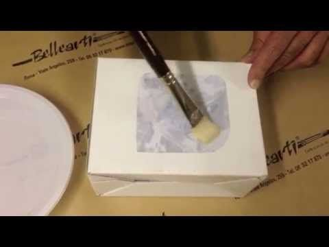 Come trasferire le immagini con i medium gel acrilici - YouTube