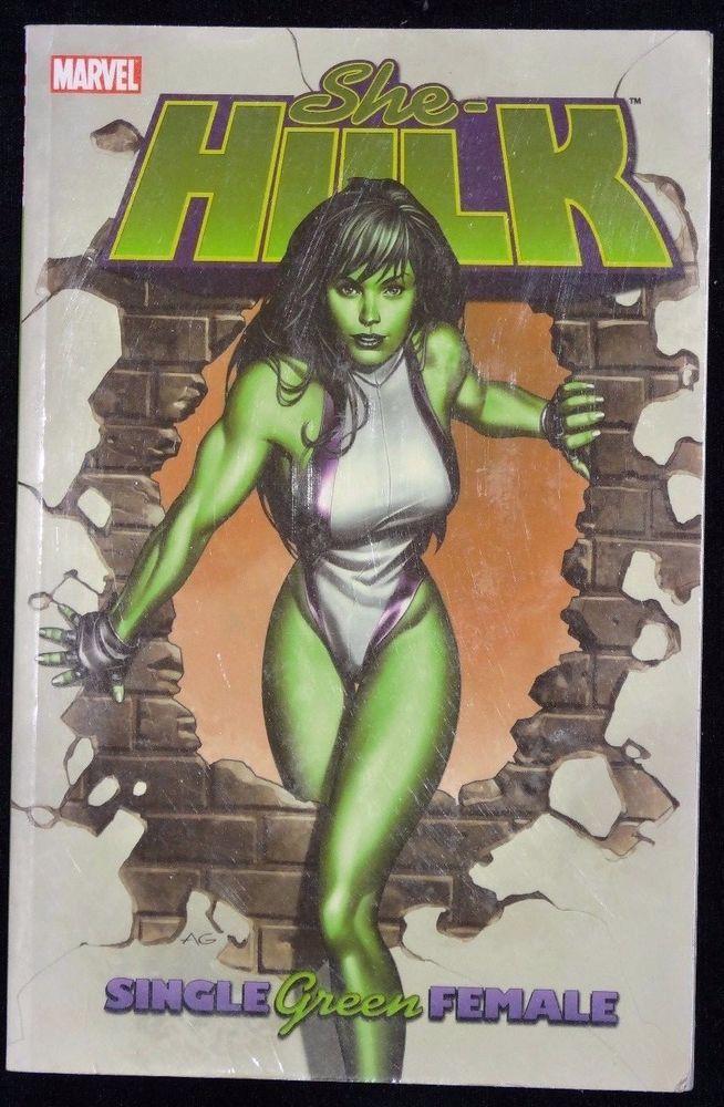 She Hulk Single Green Female Volume 1 Marvel Comics Dan Slott Paperback Book New