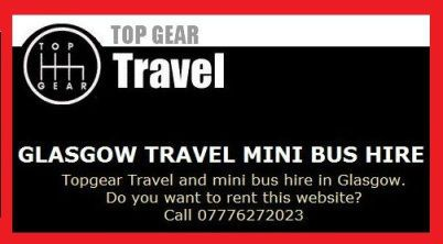 Outlived Ad of the afternoon: Top Gear Travel: Glasgow Travel Mini Bus Hire   More: https://www.outlived.co.uk/ads/top-gear-travel-glasgow-travel-mini-bus-hire/