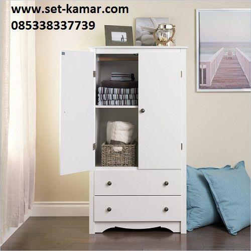 Lemari Pakaian Anak Minimalis 2 Pintu atau di sebut Lemari Baju 1 Pintu 3 Pintu Harga Murah Berkualitas Mewah By Furniture Jepara
