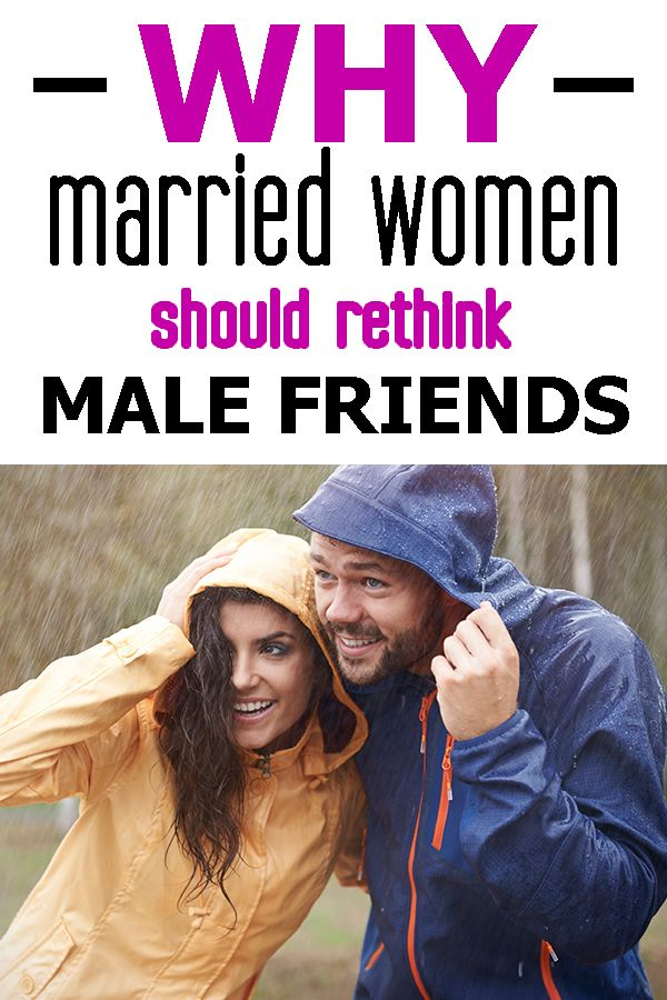 women and male friends