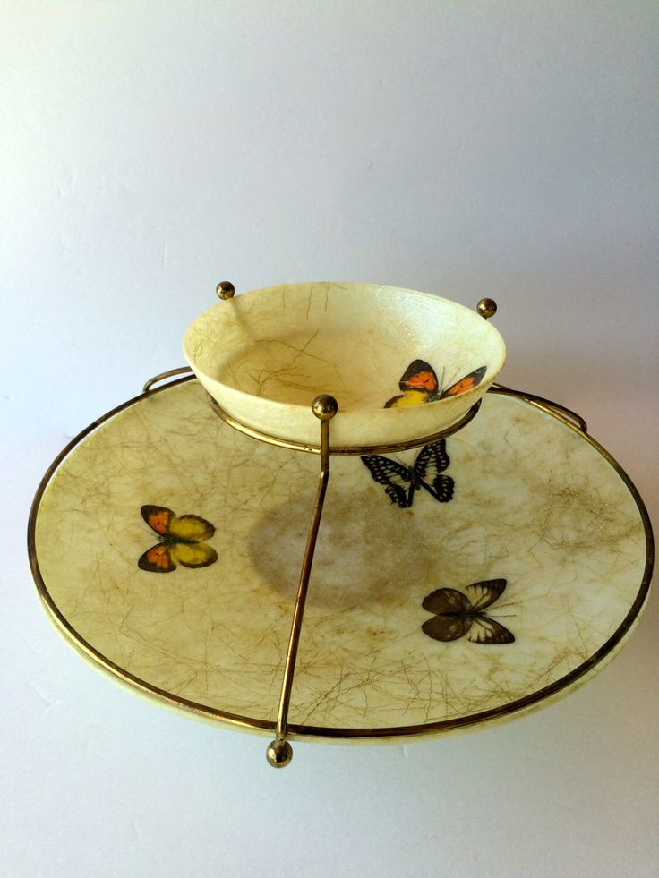 Chip & Dip Serving Bowl Butterfly Tiered Bowls Mid-century Serving Trays Dip Chip Set Fiberglass Mid-Century Serving Bowl Bohemian Party by TizaVintage on Etsy https://www.etsy.com/listing/243716922/chip-dip-serving-bowl-butterfly-tiered