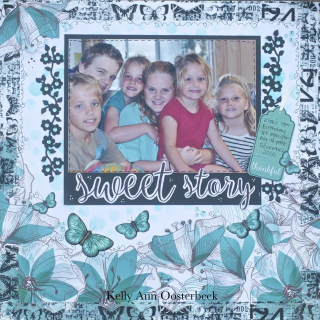 Layout By Kelly-ann Oosterbeek made using the Sea Breeze Collection from Kaisercraft. www.amothersart.com.au