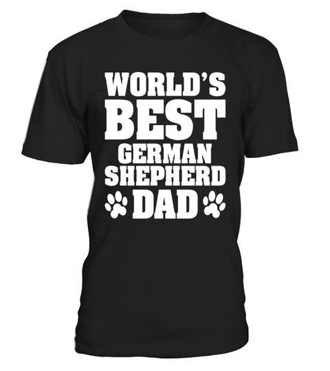 """# World's Best German Shepherd Dad TShirt .  Special Offer, not available in shops      Comes in a variety of styles and colours      Buy yours now before it is too late!      Secured payment via Visa / Mastercard / Amex / PayPal      How to place an order            Choose the model from the drop-down menu      Click on """"Buy it now""""      Choose the size and the quantity      Add your delivery address and bank details      And that's it!      Tags: This German Shepherd t shirt features the…"""