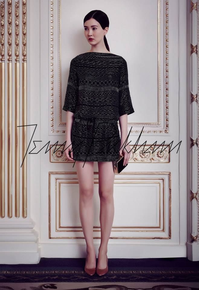 Jenny Packham A/W 2014 Pre Collection