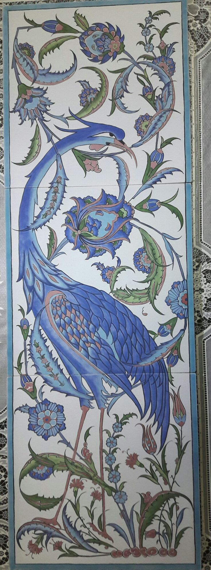 1933 best images about other tiles on pinterest ceramics for Delft tile mural