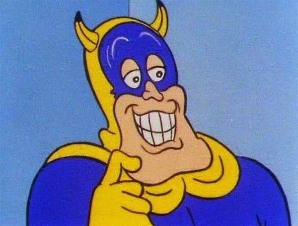 Ainda sou do tempo: ... do Bananaman
