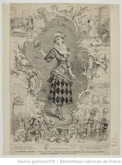 [Belle Lurette, opéra comique d'Ernest Blum et Raoul Toché : document iconographique] - 1