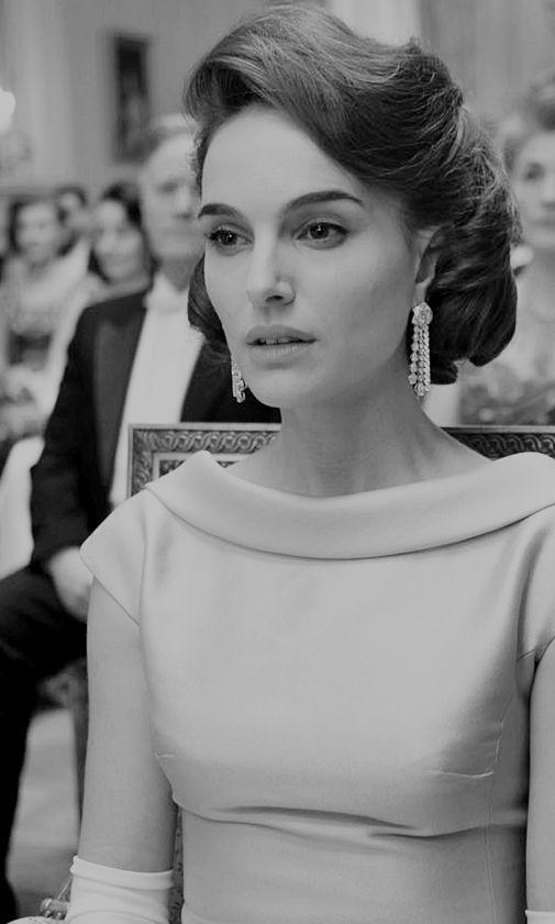 Natalie Portman as Jacqueline Kennedy in Jackie (2016)