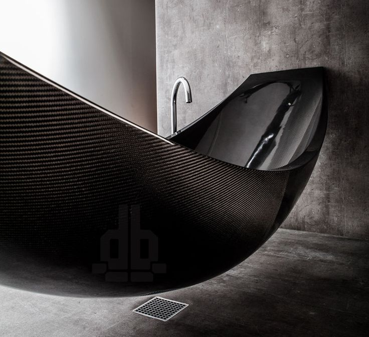 splinter works vessel hammock shaped carbon fibre bathtub designboom