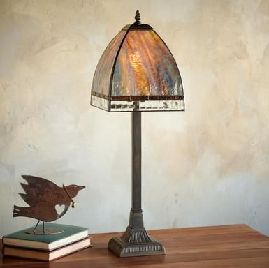 Love a purty craftsman lamp. $165
