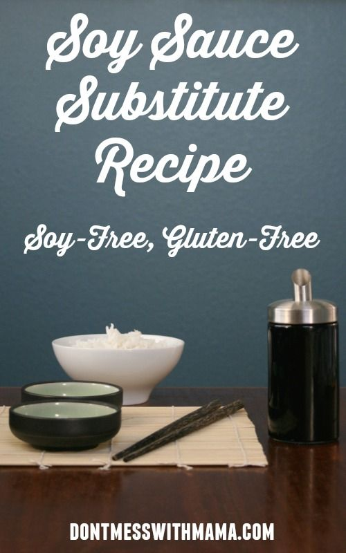 Soy Sauce Substitute Recipe (Soy-Free, Gluten-Free) #Paleo #glutenfree #recipe - DontMesswithMama.com
