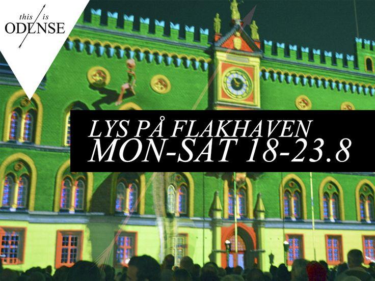 Lys på rådhuset! 3D Light show! #Flakhaven #OdenseRådhus #WeCreateMagic #HCAfestivals #Odense @hcafestivals #mitodense #thisisodense  Læs anbefalingen på: www.thisisodense.dk/15209/lys-paa-raadhuset