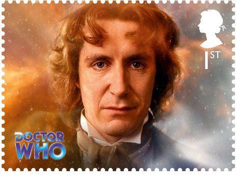 Paul McGann Stamp