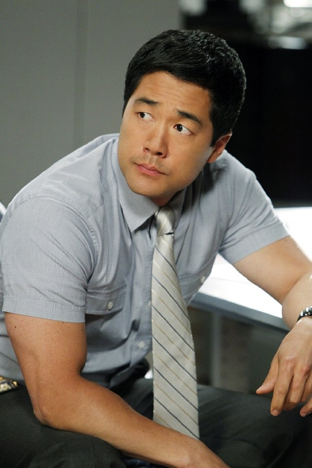 Tim Kang (in The Mentalist TV series. Character Name :  Kimball Cho).