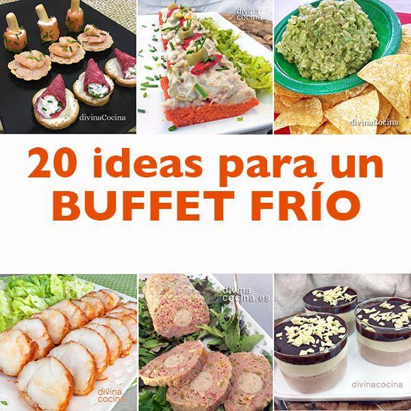 Aquí os hacemos una propuesta con 20 ideas para un buffet frío para invitados que te permite disfrutar de la fiesta con todos los demás.