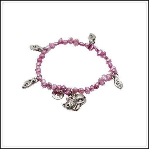 Pearls for Girls armband med sötvattenpärlor