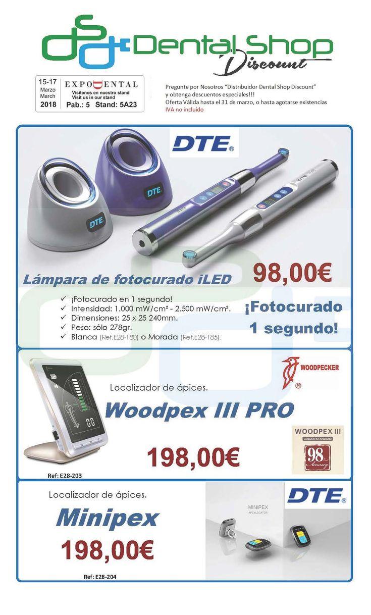 Déjate sorprender.. descuentos especiales. Expodental 2018 Madrid https://dentalshopdiscount.com/  #dental #dentista #promocion #repuestos #cirugia #madrid #barcelona #asturias #malaga #sevilla #odontologo #odontologia #cirugia #clinica #espana #clinicadental #saludbucal #dentist #dentistry #murcia #expodental2018