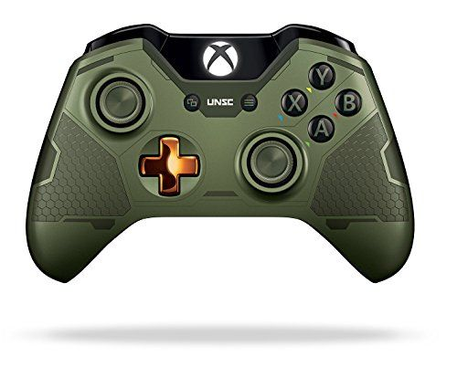 Xbox One Limited Edition Halo 5: Guardians Master Chief Wireless Controller Microsoft http://www.amazon.com/dp/B0136JP7QI/ref=cm_sw_r_pi_dp_YYv2vb096YPGR