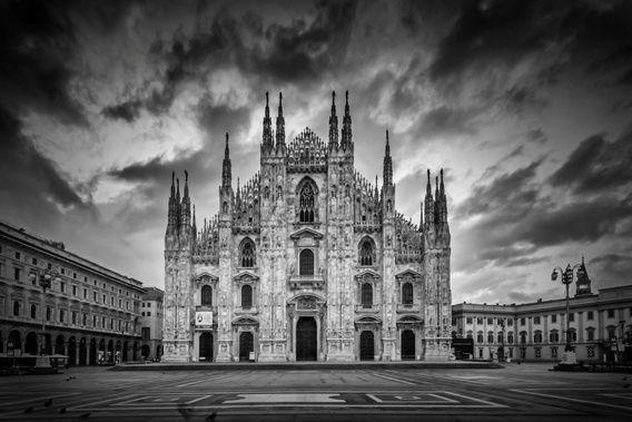 Neu in meiner Galerie bei OhMyPrints: MAILÄNDER DOM Kathedrale Santa Maria Nascente | Monochrom #Mailand #Milano #blackandwhite #schwarzweiß #MailänderDom #MilanoSight #Italy #Italien