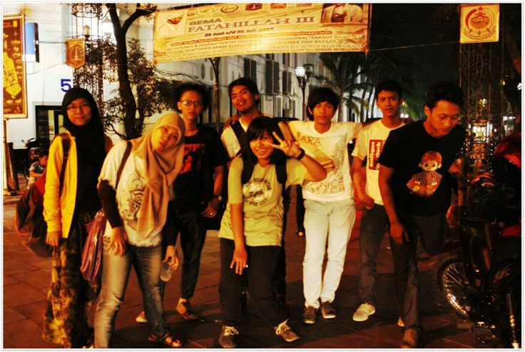 Old city- with my friends