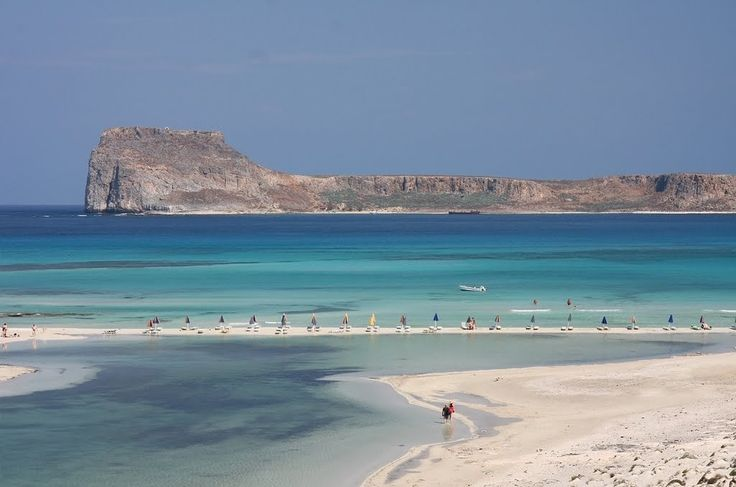 Μπάλος: Λιμνοθάλασσα - παραλία, και το νησί Γραμβούσα, Χανιά, Κρήτη