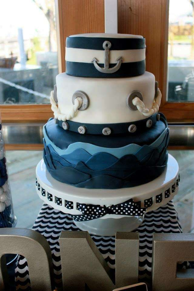 Ahoy, Birthday Boy! Paul is One!  | CatchMyParty.com