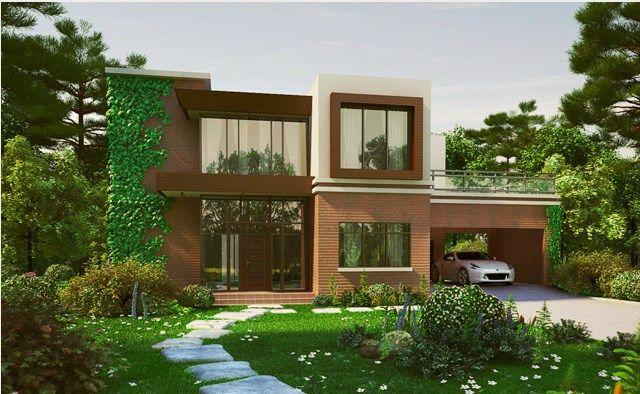 Desain Rumah Mewah Minimalis 2 Lantai Modern 2016