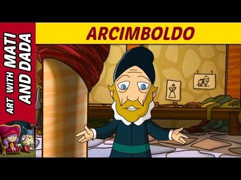 Art with Mati and Dada - Arcimboldo | Kids Animated Short Stories in English - YouTube