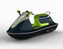 mini jet ski by Michal Bonikowski, via Behance