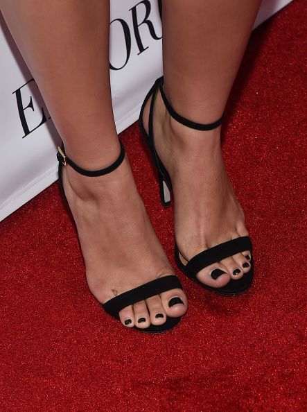 Ariel Winter (shoe detail) attends the 12th Annual Teen Vogue Young Hollywood Party with Emporio Armani on September 26, 2014 in Beverly Hills, California.