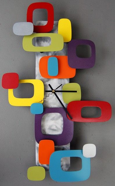 10 coolest affordable retro modern wall clocks under 300