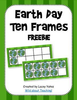 Earth Day Ten Frames-FREEBIE