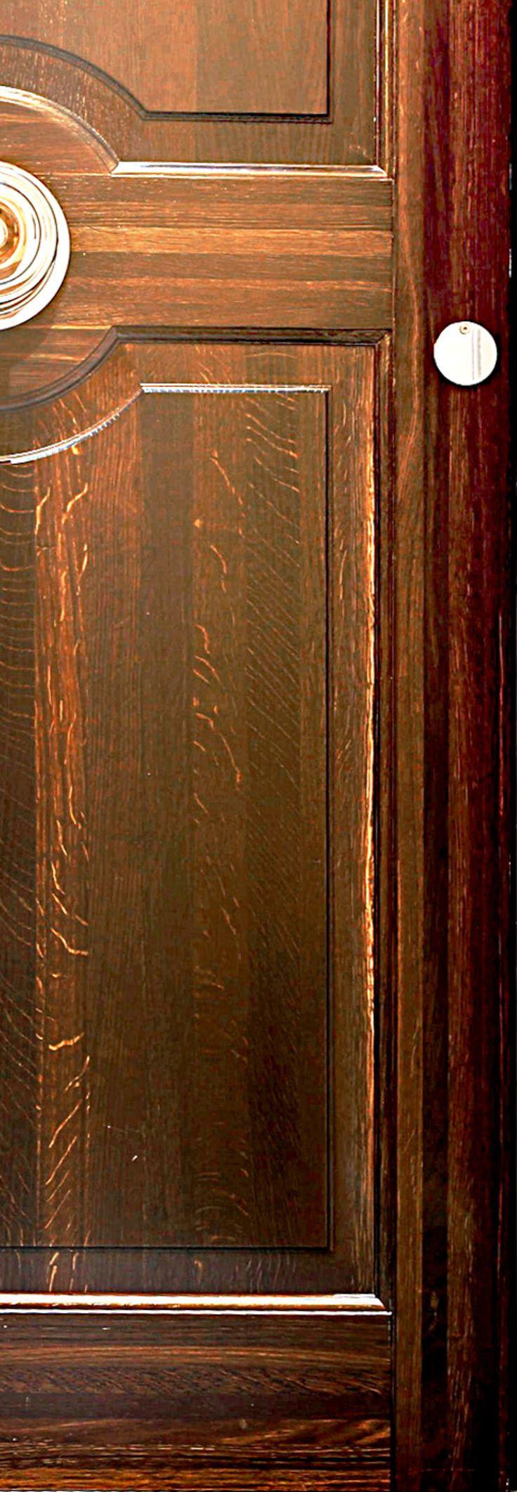 Vahle Door produced this custom door in stained oak for Hotel D'Angleterre in Copenhagen
