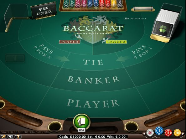 Baccarat is an online table game that brings all the action you would find at a local land based casino and delivers it to your computer screen... read more http://www.freeslots.jp/free-games/net-entertainment/baccarat/