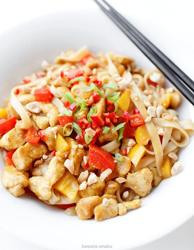 Noodle z kurczakiem hoisin