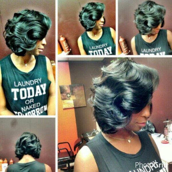Pretty! - http://www.blackhairinformation.com/community/hairstyle-gallery/weaves-extensions/pretty-10/ #weavesandextentions