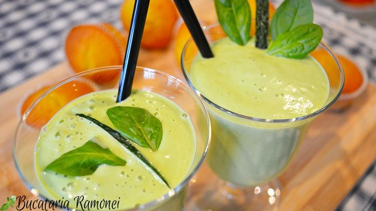 Smoothie cu avocado si spanac, reteta smoothie