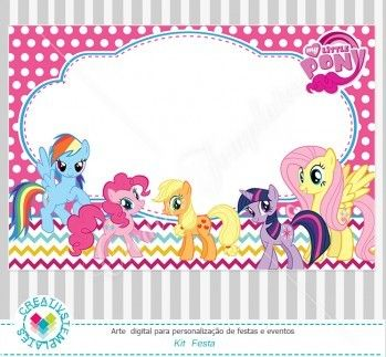 Kit festa Digital My Little Pony mod:13