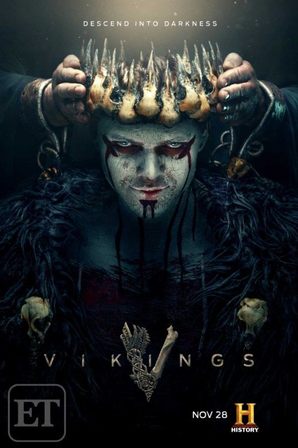 New Vikings Poster Has Crowned King Ivar The Boneless With