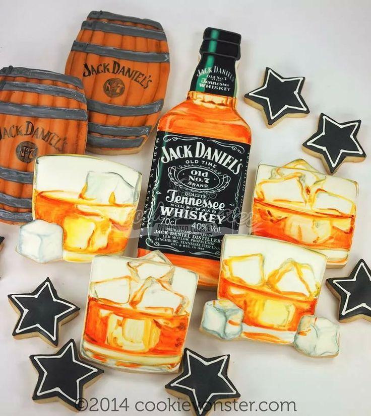 Jacks daniels cookies