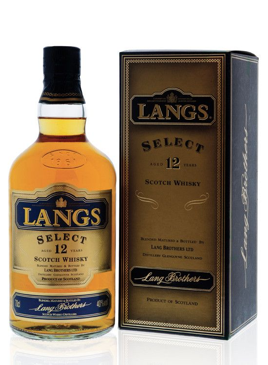 Whisky Langs Select 12 anos