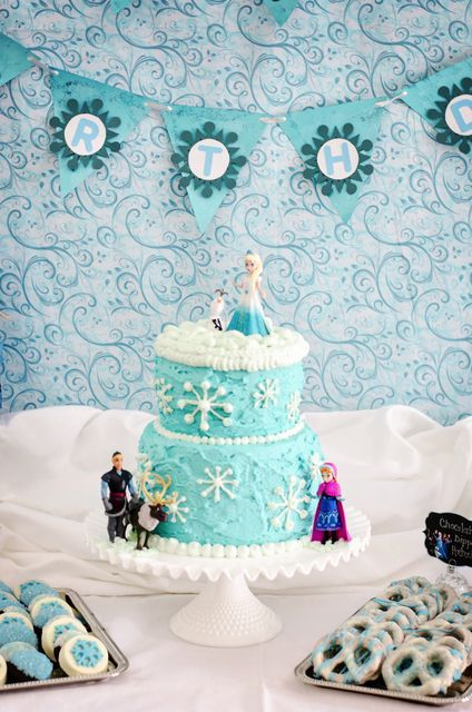 Adorable, simple party – Meghan's 4th Birthday: Frozen