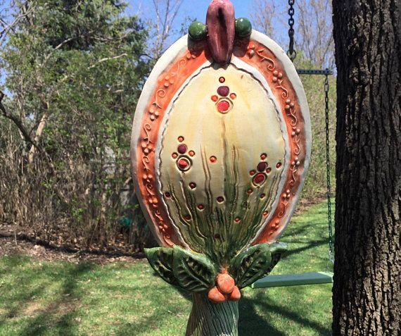 Garden Stakes Garden Sculpture Yard Stakes Yard Art Garden Yard